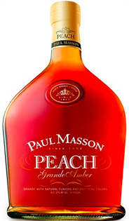 Paul Masson Brandy Grande Amber Peach 1.75l